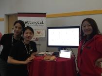ChattingCat_demoday_booth_team